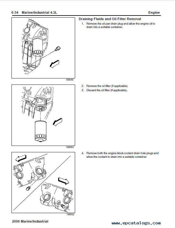 isuzu 2 3l engine diagram download general motors 4 3l powertrain tp 6103 sm pdf  general motors 4 3l powertrain tp 6103
