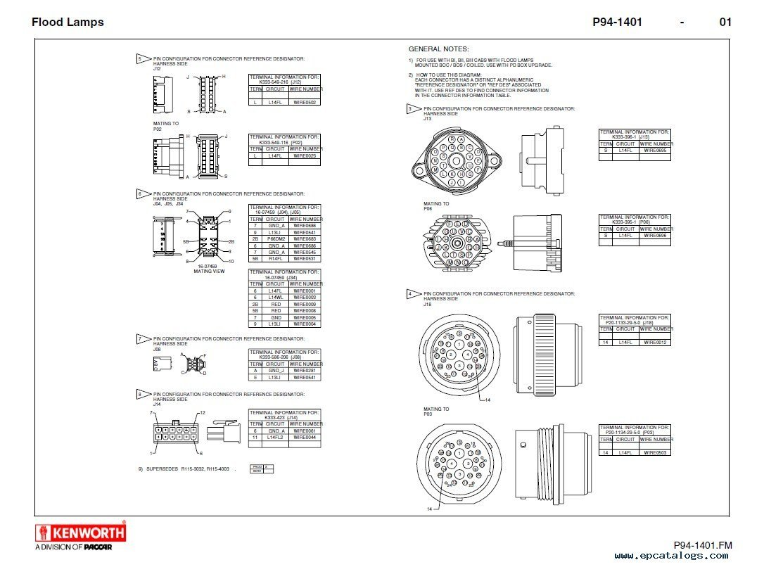Kenworth Speedometer Wiring Diagram