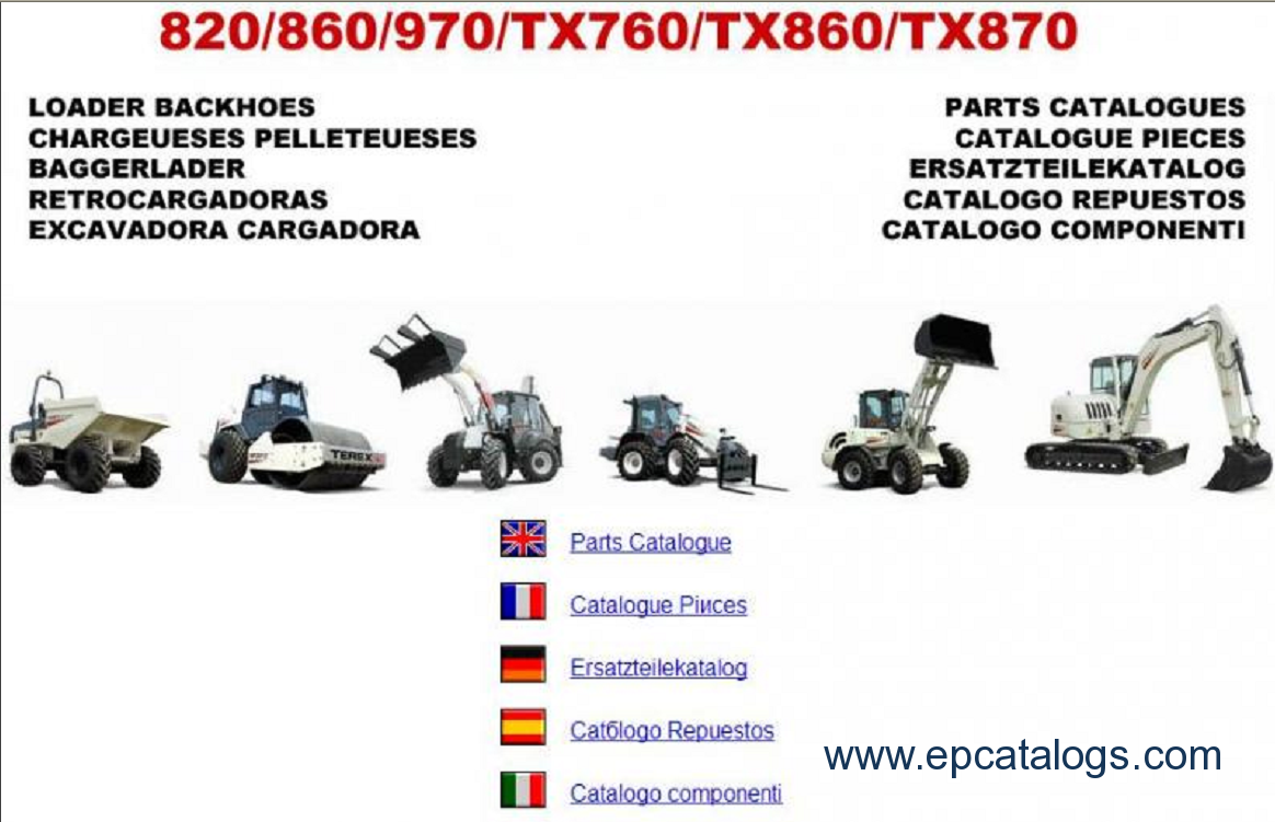 terex fermec parts and repair manuals download rh epcatalogs com terex 860 sx workshop manual terex 860 service manual