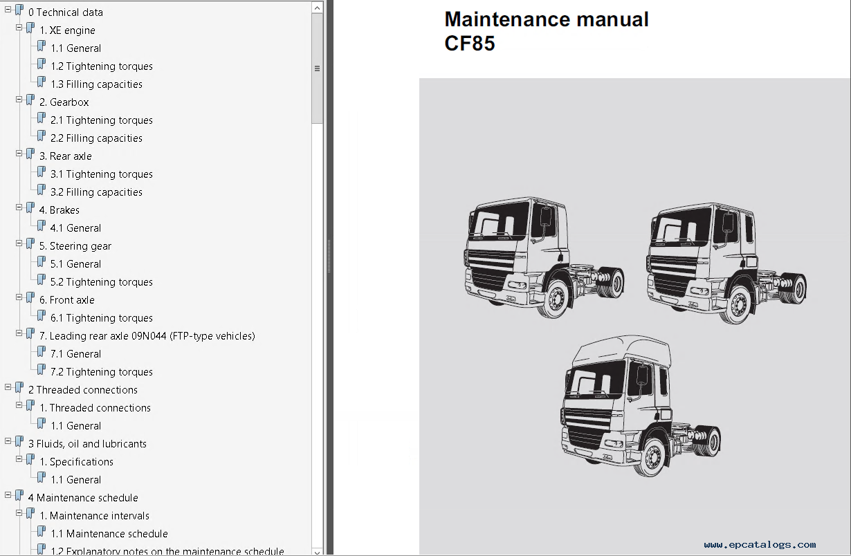 daf trucks series 95xf cf65 cf75 cf85 lf45 lf55 workshop manual pdf daf lf 45 wiring diagram daf girl \u2022 45 63 74 91 daf lf fuse box diagram at gsmportal.co