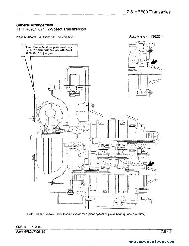 Clark Service Manual Sm 520r on manual transmission trucks