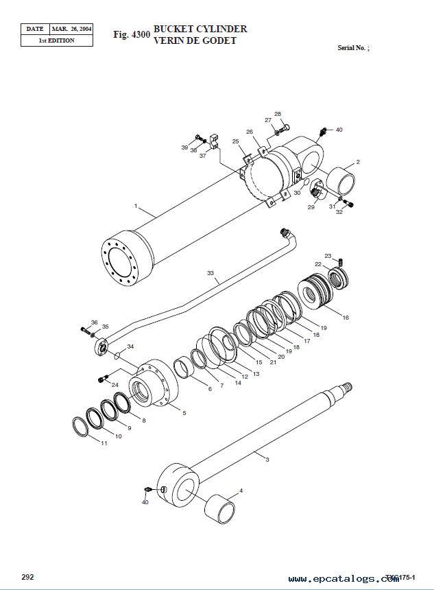 Terex Tx 175lc 1 Hydraulic Excavator Parts Manual Pdf