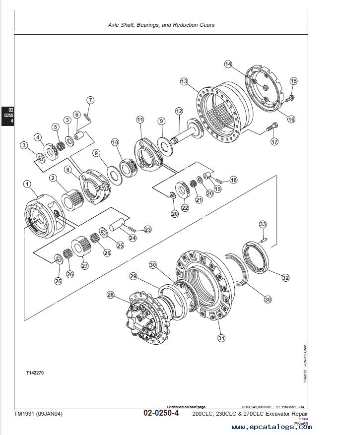 John Deere 260 Manual