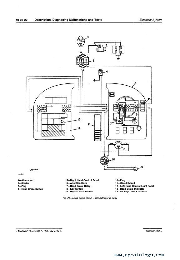 John Deere 2950 Tractor Technical Manual Tm4407 Pdf