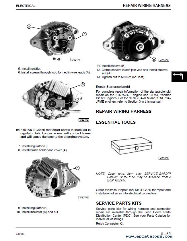 john deere f1145 wiring diagram john image wiring john deere f1145 front mower tm1519 technical manual pdf repair on john deere f1145 wiring diagram