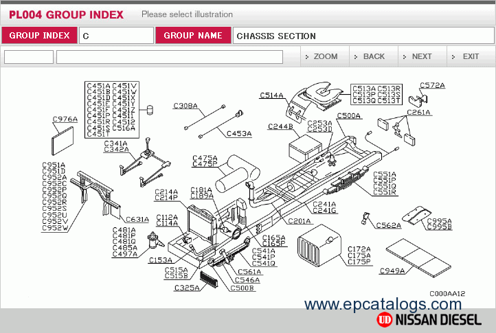 Nissan Diesel UD Smart spare parts catalog parts manual nissan ud wiring diagram nissan wiring diagrams instruction atlas wiring diagrams at gsmportal.co