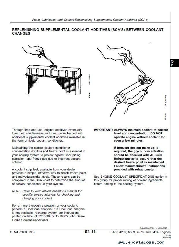 john deere series 300 3179 4239 6359 4276 6414 engine pdf rh epcatalogs com John Deere Parts Catalog John Deere 737 Service Manual