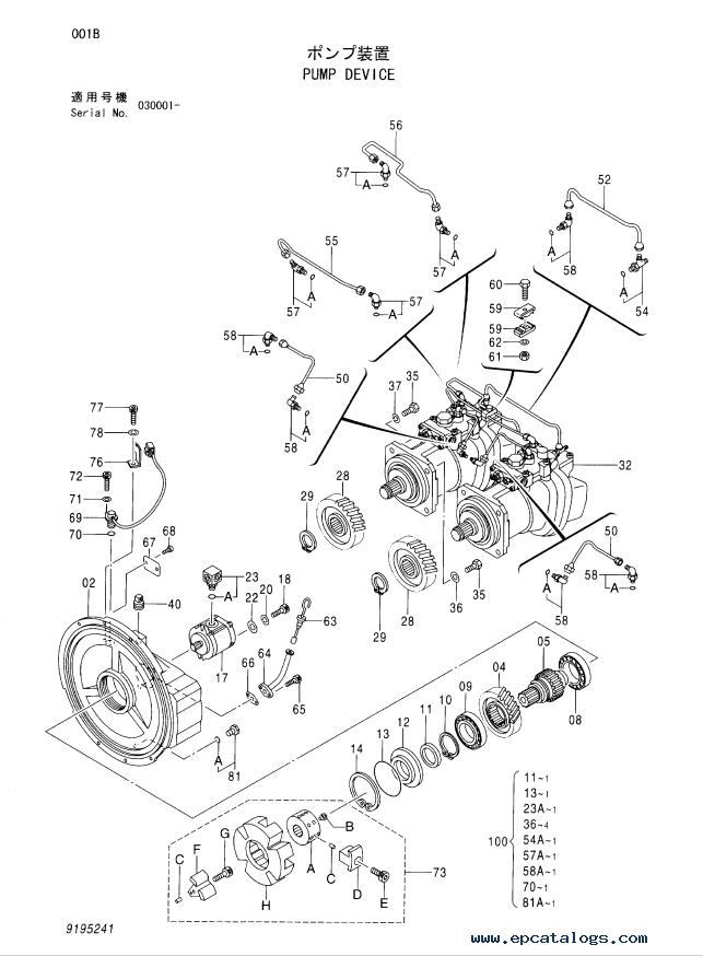 hitachi zaxis 330 class hydraulic excavator parts catalog pdf