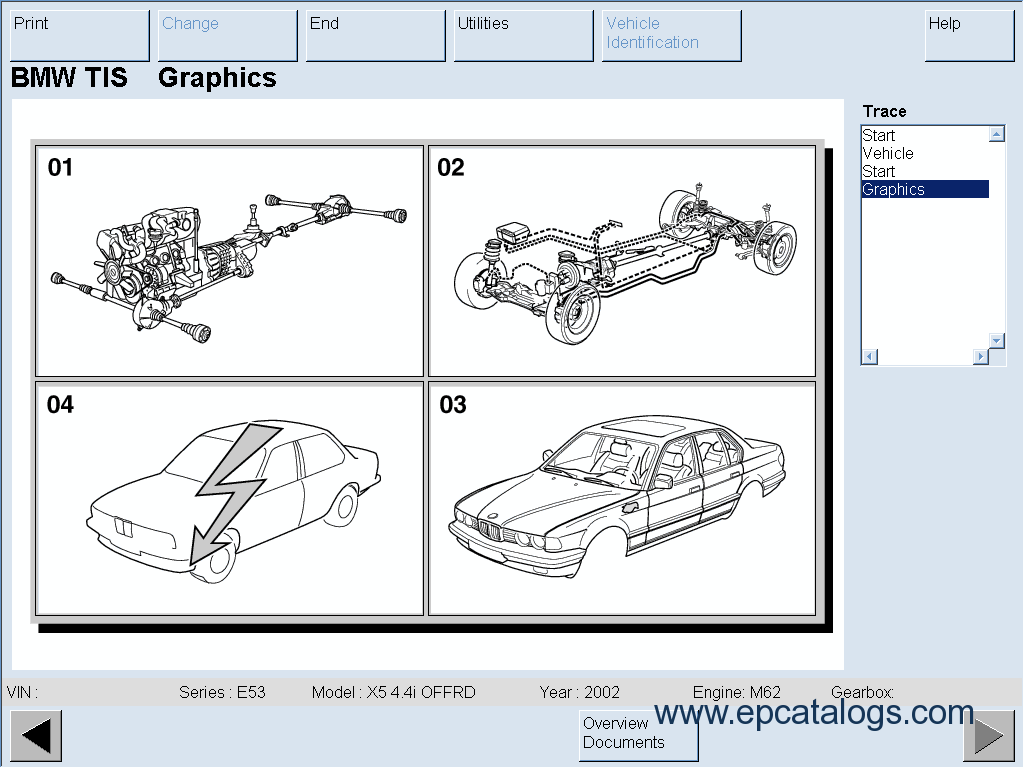 BMW TIS English Technical Information System | Bmw M62 Engine Diagram Free Download |  | EPCATALOGS