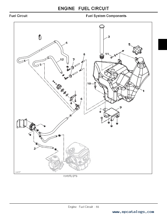 Wiring Diagram For John Deere Trail Buck : Wiring diagram rx stx
