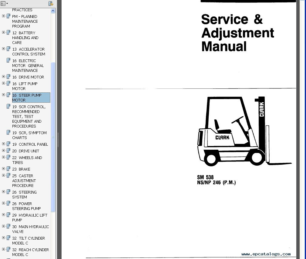 amazing clark forklift wiring diagram contemporary