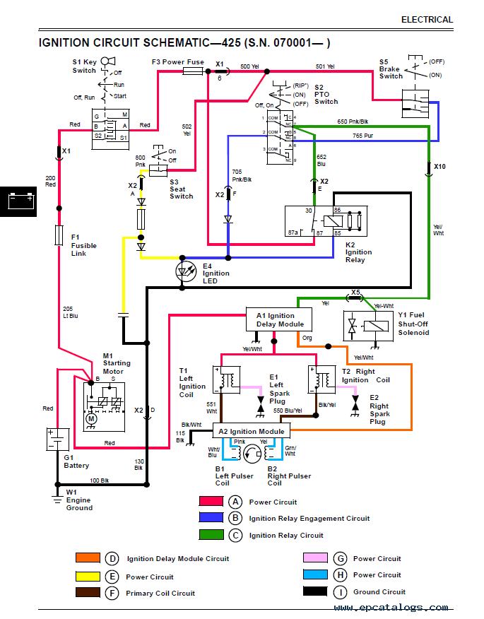 john deere 445 wiring diagram   29 wiring diagram images