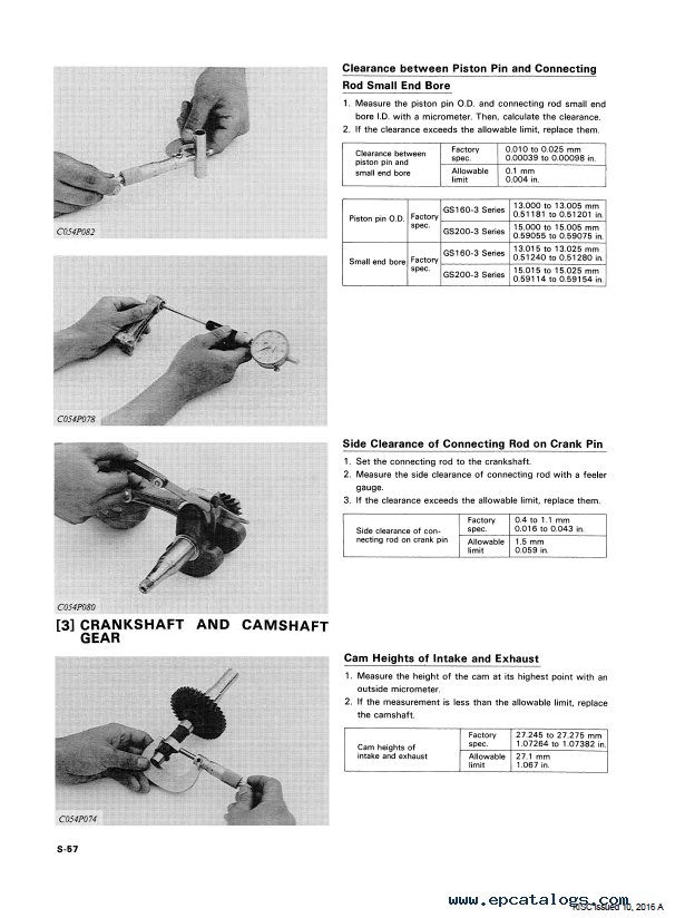 kubota gs160 200 3 engines workshop manual pdf download rh epcatalogs com Kubota L4740 Repair Manuals Po606 Masataka Kubota