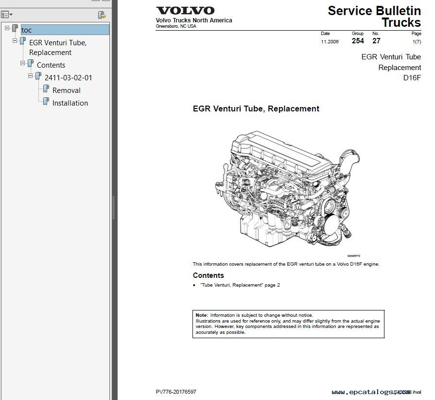 Zone Manual  Service Manual Truck Volvo