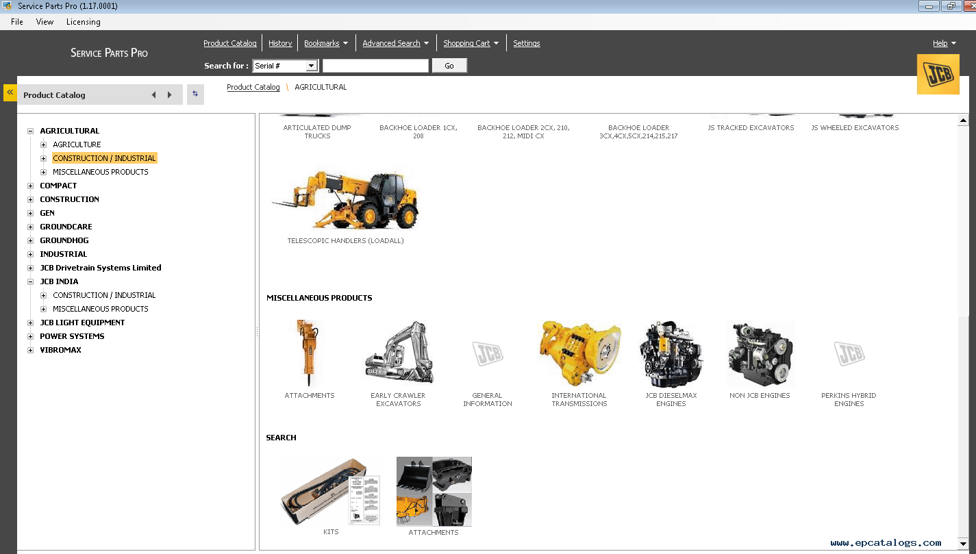 jcb spp 2013 parts catalog service repair manuals download rh epcatalogs com JCB Parts Manual JCB Forklift Parts