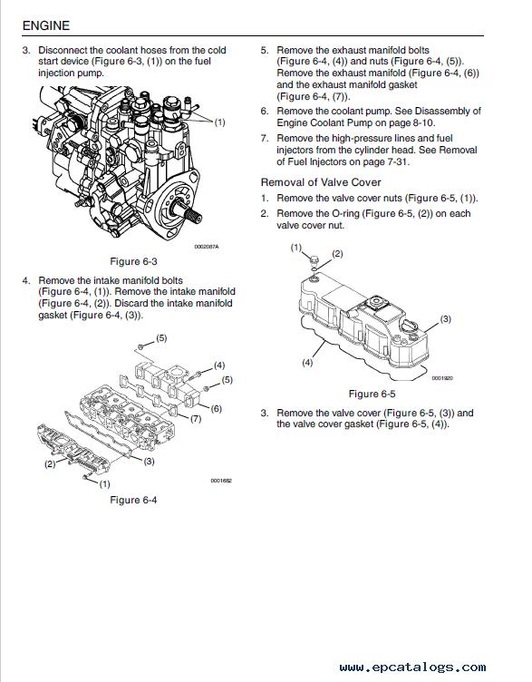 Jcb Yanmar 3tnv 4tnv Series Industrial Engines Service Manual Pdf