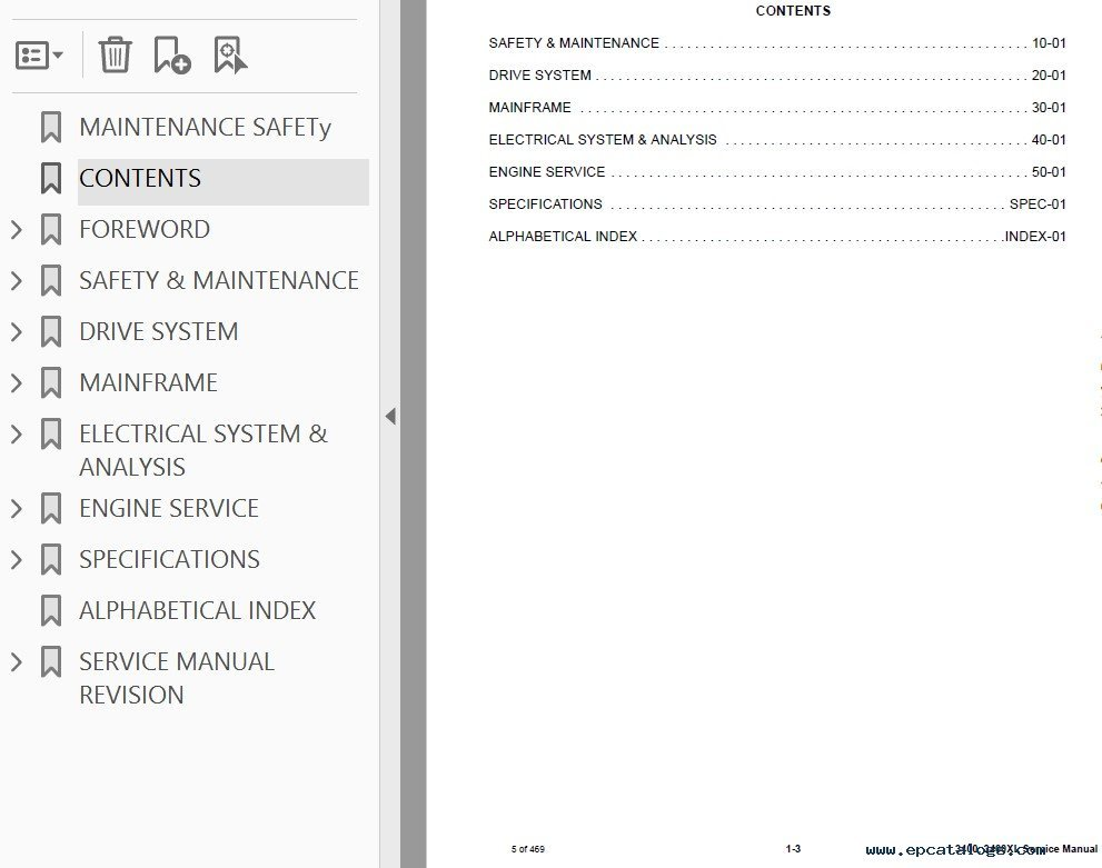 bobcat 3400  3400xl utility vehicle service manual pdf