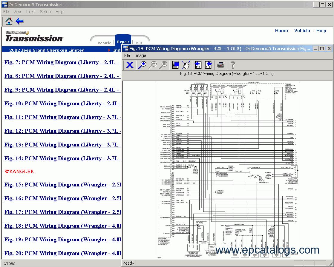 Mitchell OnDemand Transmission - Mitchell on demand wiring diagram