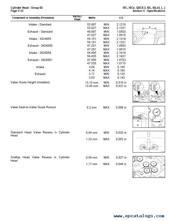 Cummins Engines ISC, ISCe, QSC8 3, ISL, ISLe3, ISLe4, QSL9 Troubleshooting  and Repair Manual PDF