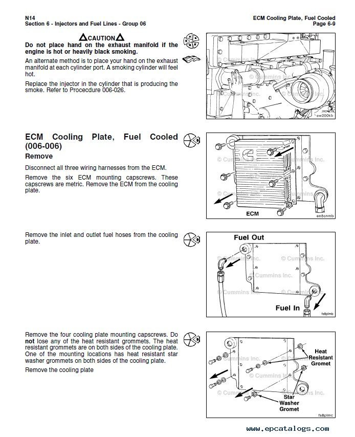 cummins n14 base engine stc celect celect plus troubleshooting enlarge