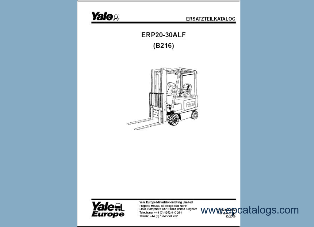 yale pdf spare parts catalog forklift trucks manuals enlarge spare parts catalog yale pdf 3 enlarge