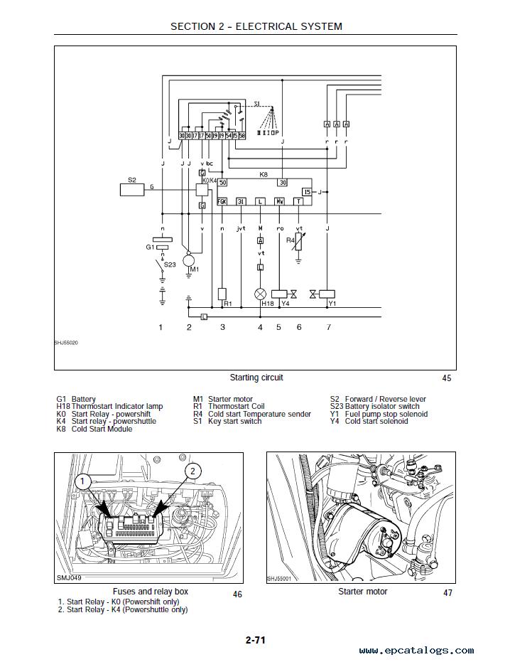 Newholland 185 B eletrical manual