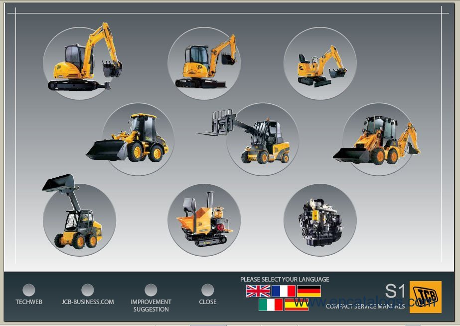 jcb service manuals s1 repair manual heavy technics repair. Black Bedroom Furniture Sets. Home Design Ideas