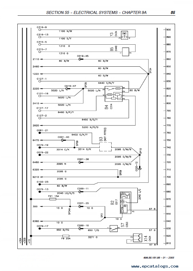 New Holland Wiring Schematic - General Wiring Diagrams on