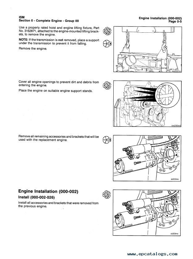 Cummins ISM / QSM11 Series Engines Troubleshooting and Repair Manual PDF