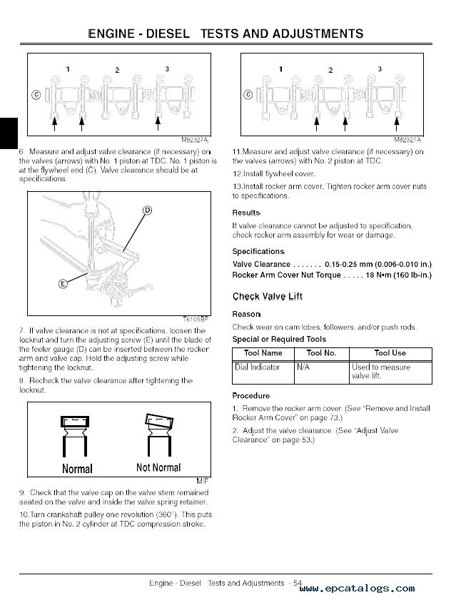 John Deere 3225C, 3235C, 3245C Lightweight Fairway Mower TM2105 Technical  Manual PDF