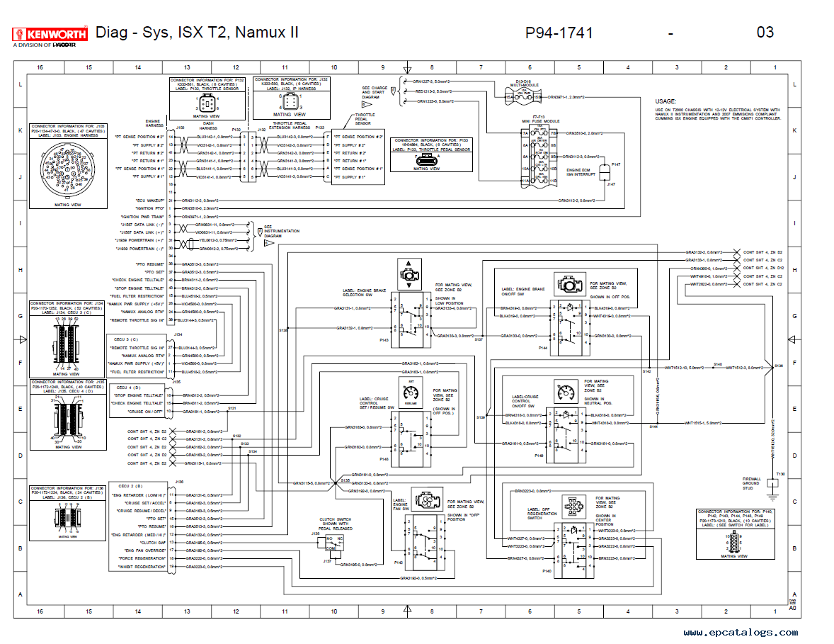 Kenworth Wiring Diagram - All Diagram Schematics on