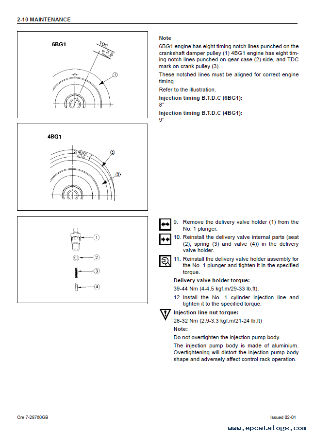 isuzu 4bg1 service manual enthusiast wiring diagrams u2022 rh rasalibre co Isuzu Diesel Engines Isuzu 6BD1