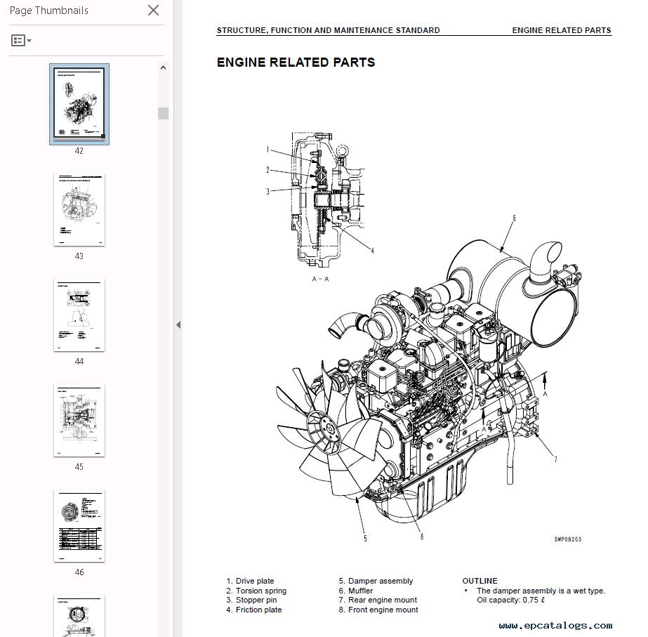 komatsu hydraulic excavators pc228us  uslc