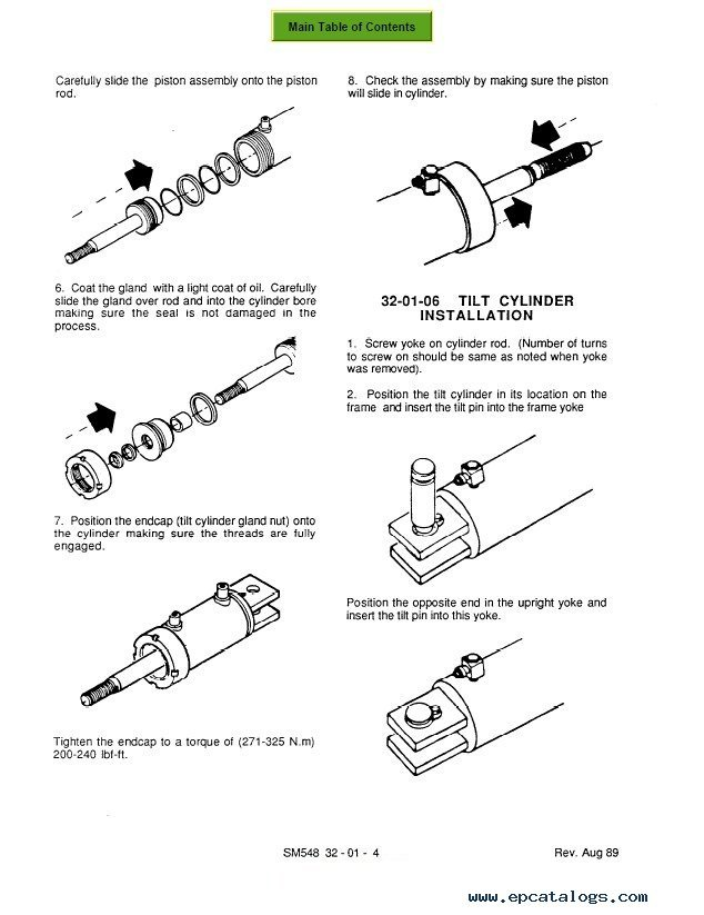 hydraulic cylinder repair parts online