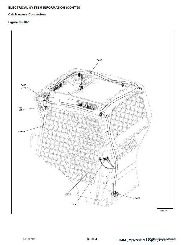 Bobcat S100 Skid Steer Loader Service Manual Pdf