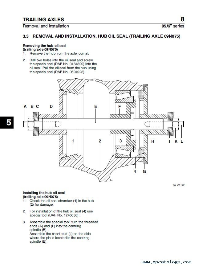 DAF 95XF Series Truck Service Repair Workshop Manual daf xf 95 wiring diagram pdf efcaviation com daf xf 95 wiring diagram at nearapp.co