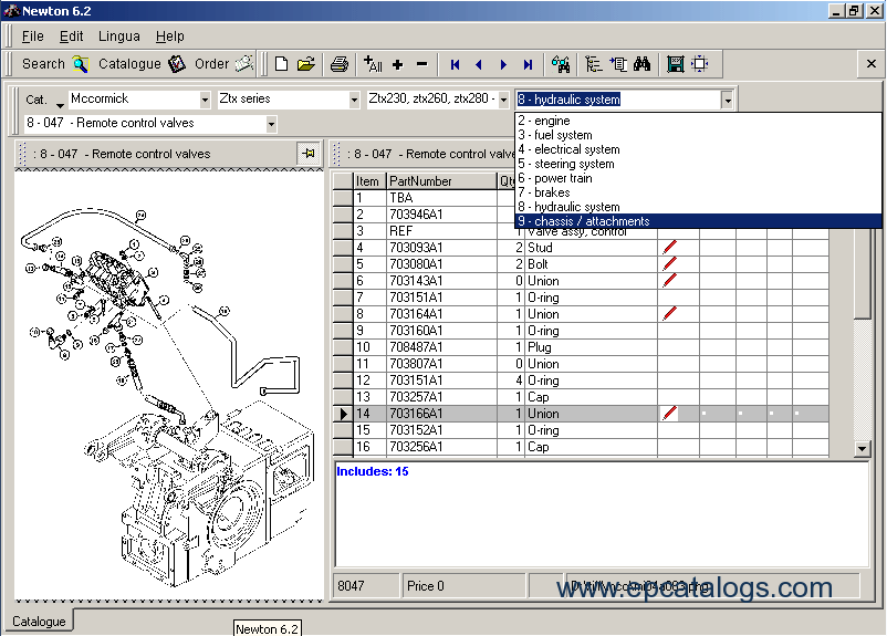 Mccormick newton spare parts catalog download