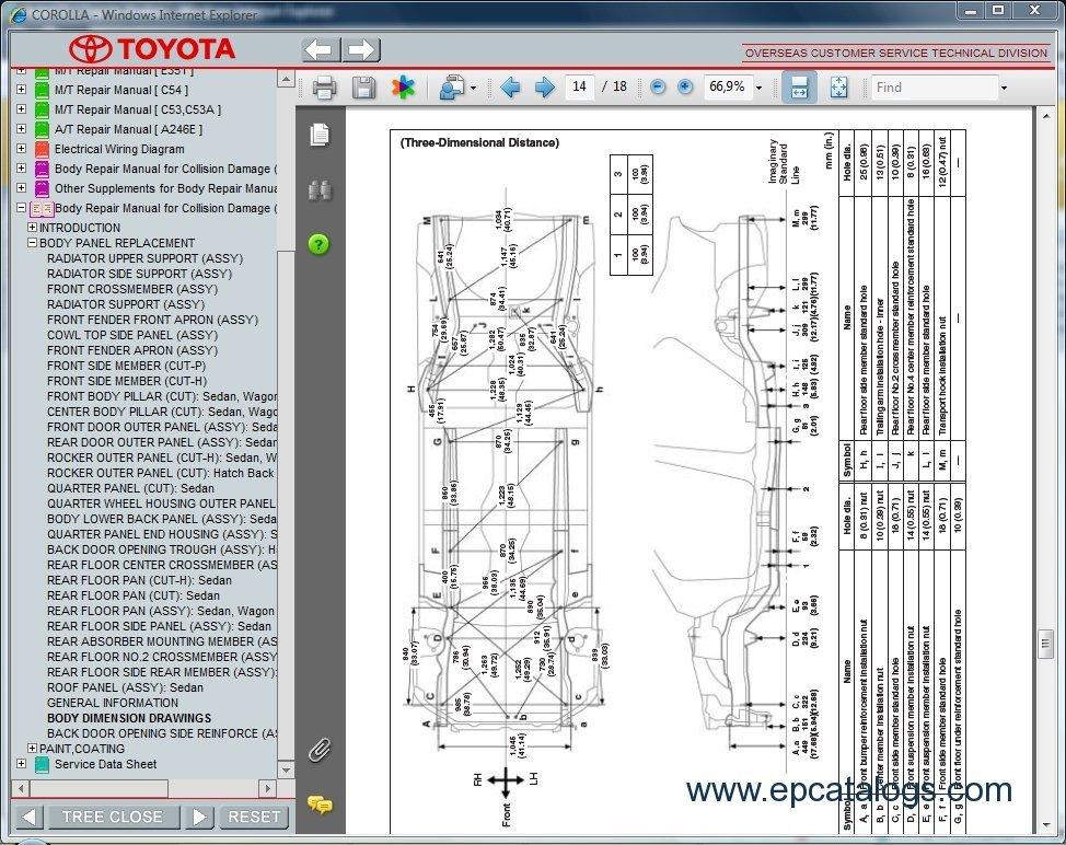 DIAGRAM 1995 Toyota Corolla Wiring Manual Original ...