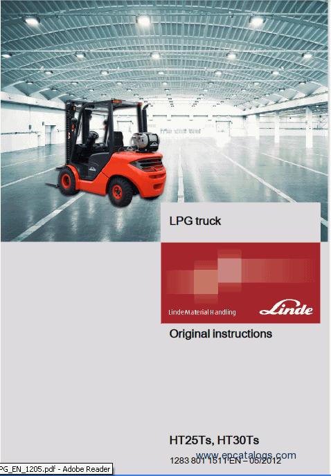 fork lift truck manual:
