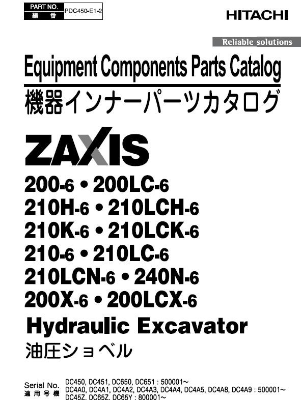 Hitachi Zaxis 200