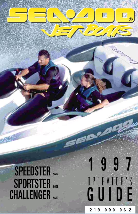 Sea Doo Jet Boat Challenger 1800 Repair Manual Download
