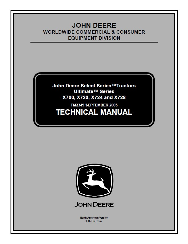 john deere x700 x720 x724 x728 lawn garden tractor repair manual pdf john deere select series tractors ultimate x700 x720 x724 x728 jd x700 wiring diagram at bayanpartner.co