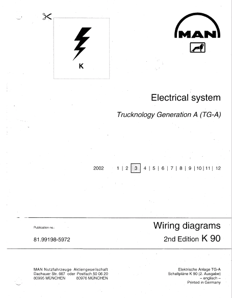 Man Electrical System  Tg