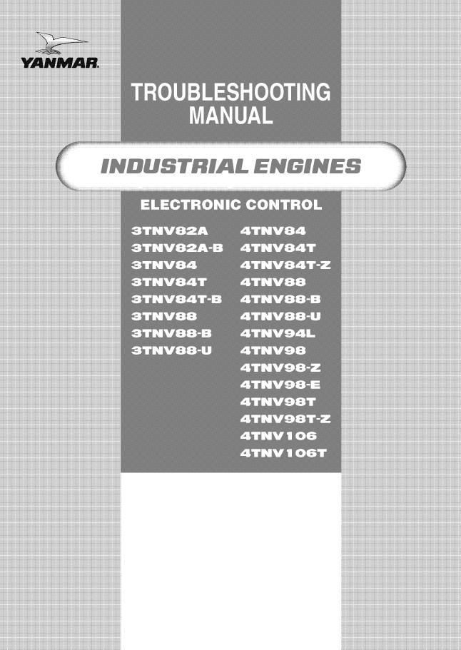 john deere industrial engines tnv yanmar electronic control troubleshooting john deere industrial engines tnv yanmar electronic control yanmar 3tnv88 wiring diagram at soozxer.org