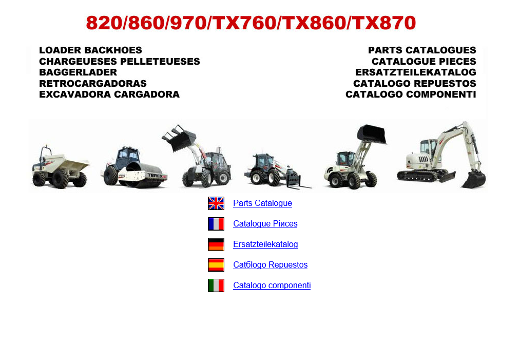 terex fermec parts and repair manuals download rh epcatalogs com terex 860 sx workshop manual Fermec 650B