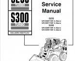 repair manual Bobcat S250 Turbo, S300 Turbo High Flow Loaders Service Manual PDF