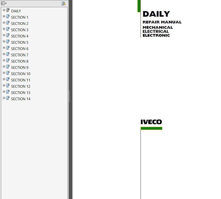 Iveco Daily Wiring Diagram - efcaviation.com Daily Wire