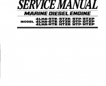 repair manual Yanmar Marine Diesel Engine 4LHA Series Service Manual PDF