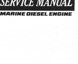 repair manual Yanmar Marine Diesel Engine 4LHE Series Service Manual PDF