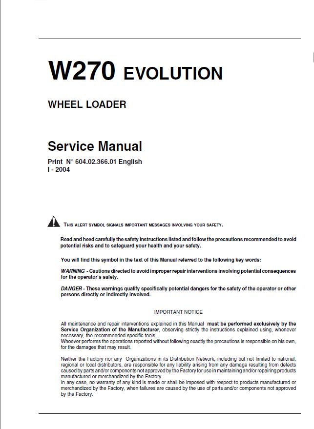 Belerus Loader Operation Instructions Tractor Manuals & Publications